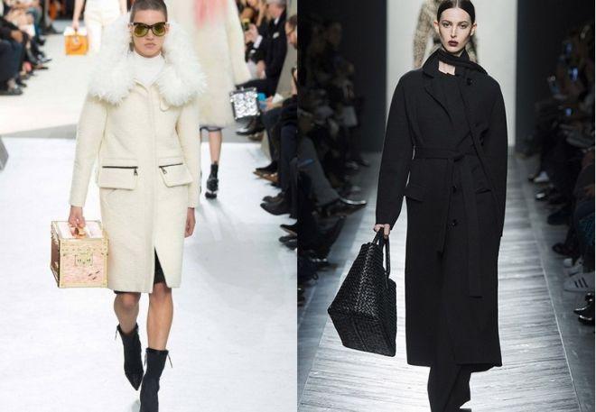 2eb6180704 Divatos kabát színek 2016-2017. A rétegek előállításához használt  színskálát hihetetlen változatosság jellemzi. Nem korlátozódik a fekete, a  divat olyan ...