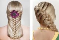 Плетение кос на длинные волосы — схемы плетения и фотогалерея