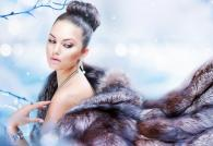 Модные норковые шубы зима